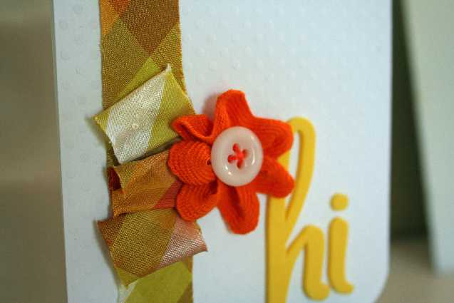 Silk close up hi card