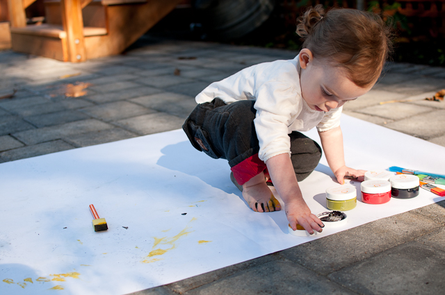 Painting with a toddler-2